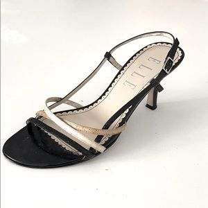 ELLE Kitten Heel Sandals Size 5